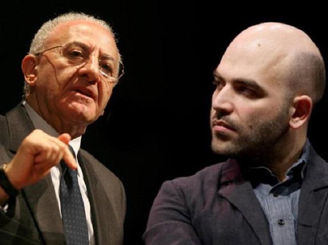 De Luca vs Saviano: