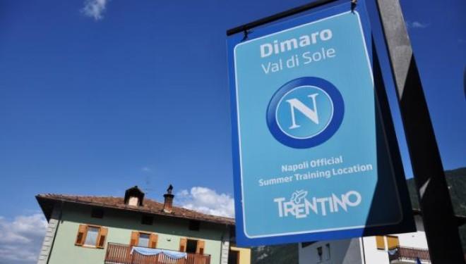 Ritiro Dimaro Napoli, in programma tre amichevoli per gli azzurri di Sarri