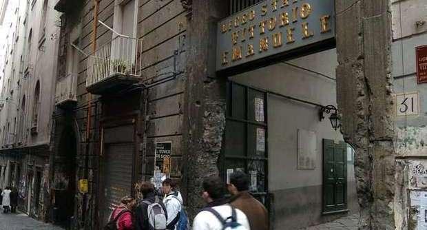 Liceo Vittorio Emanuele: interrotta festa a ingresso libero, prof denunciato e multa alla direzione del liceo