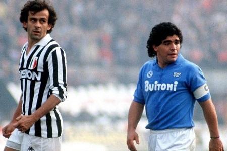 """Maradona accusa Platini: """"Mi ha rivelato di aver combinato 167 partite"""""""