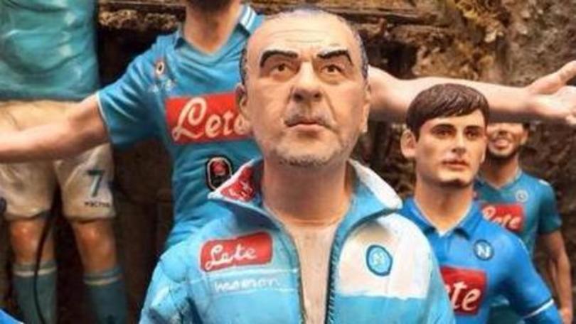 Maurizio Sarri: oggi il giorno della firma, ma lui è già sul presepe