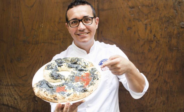 Pizza Modigliani, la nuova creazione di Gino Sorbillo