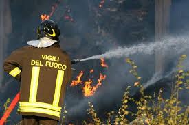 Domato incendio in via Scarfoglio