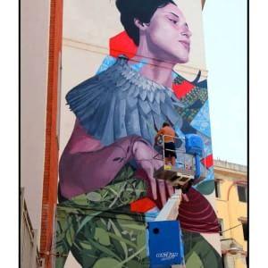 Francisco Bosoletti colora Napoli con l'aiuto dei cittadini partenopei