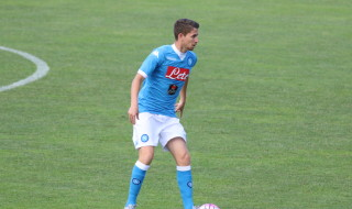 Napoli partita Dimaro Anaune Jorginho