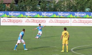 Mertens Napoli partita Dimaro Anaune