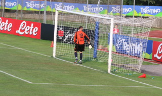Mertens gol Napoli partita Dimaro Anaune