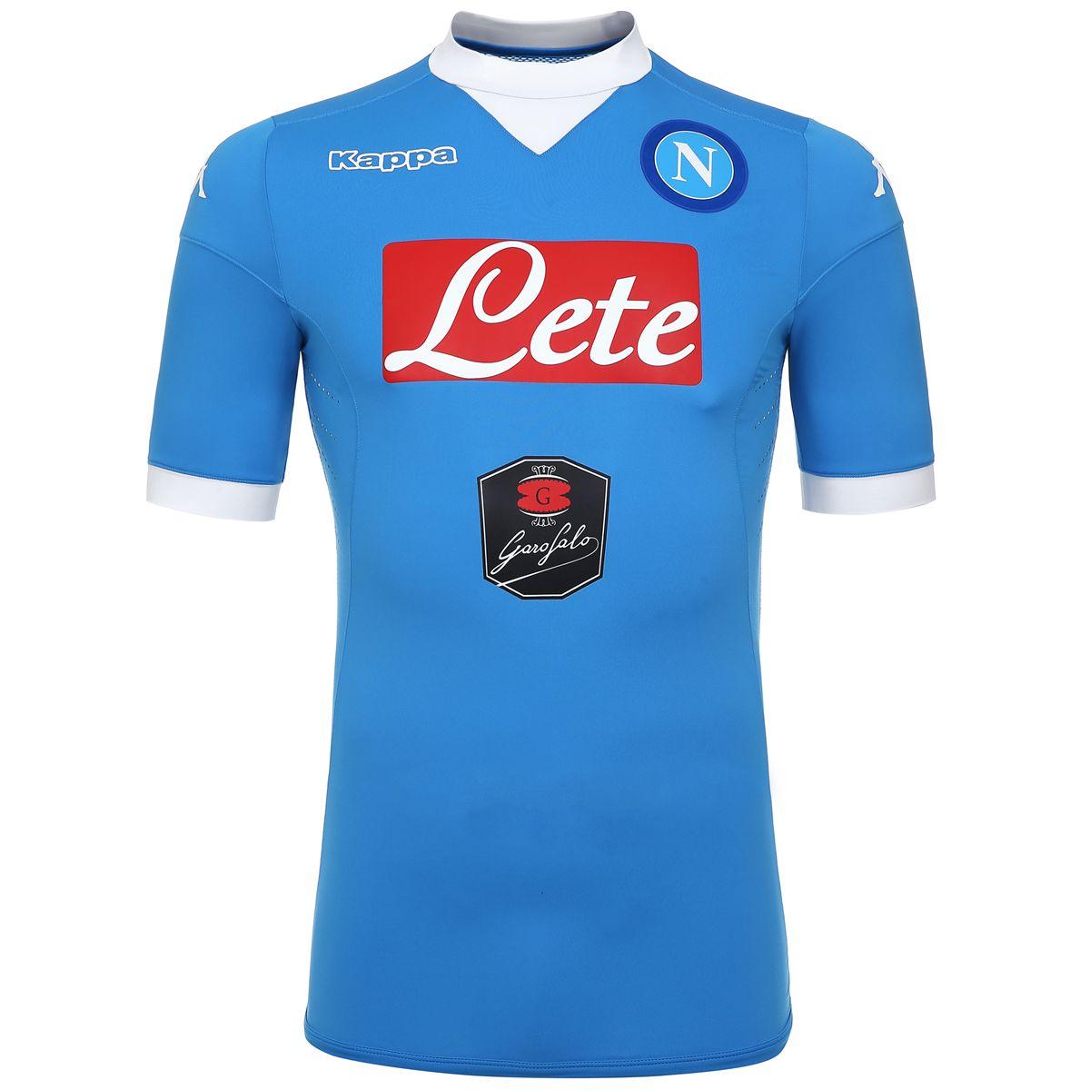 Kombat nuova maglia del Napoli