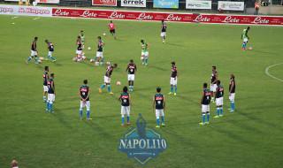 FOTO GALLERY Napoli – Feralpi Salò prima della partita!