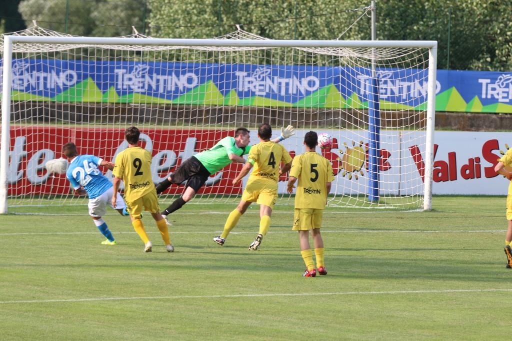 insigne primo gol Napoli Anaune