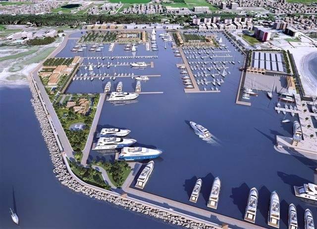 Porto di Castelvolturno, partiti i lavori grazie a imprenditori cinesi