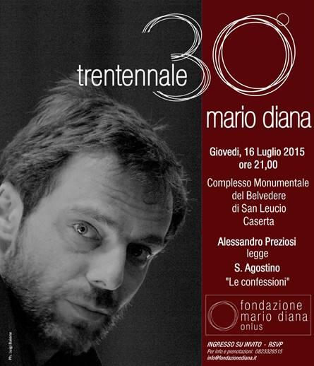 """""""Le confessioni"""" con Alessandro Preziosi in memoria di Mario Diana (16/7)"""
