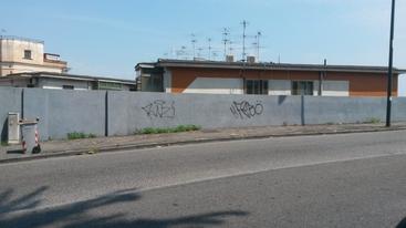 Teppisti con spray a Napoli imbrattano la città