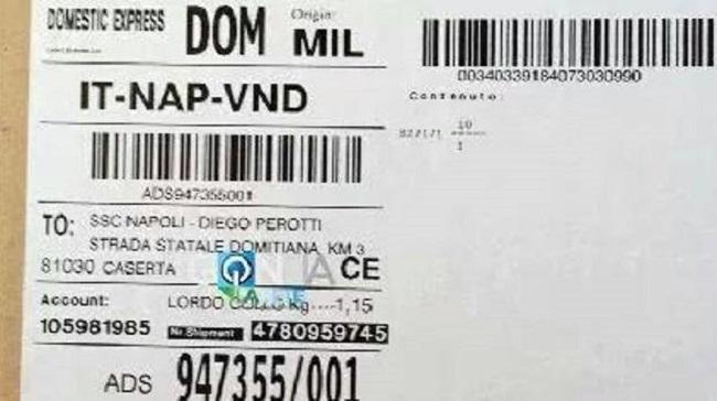 Napoli - Diego Perotti è fatta? arrivato a Castelvolturno un pacco con le sue scarpette