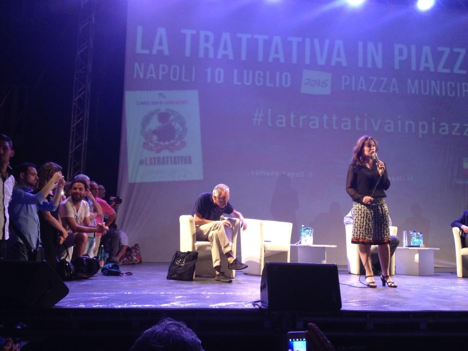LaTrattativa: Sabina Guzzanti risponde campagna diffamatoria