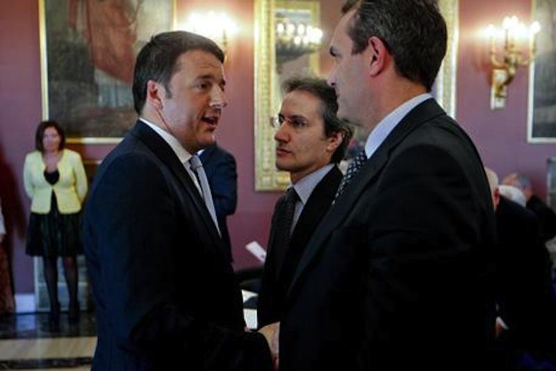 Luigi de Magistris contro Matteo Renzi: