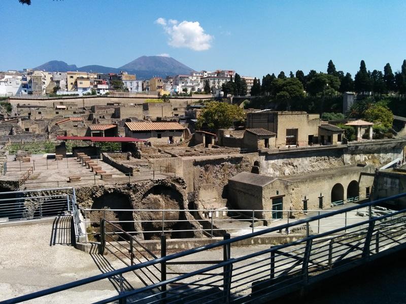 Parco archeologico di Ercolano: aprile boom di presenze