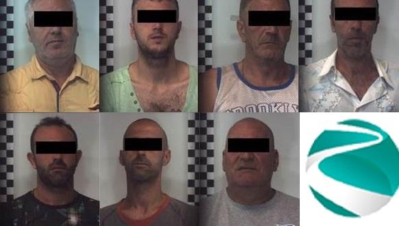 Topi d'appartamento: sgominata banda, arrestate sette persone