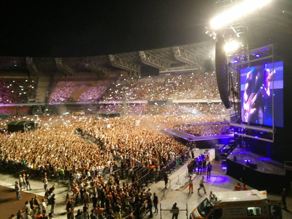 Vasco Rossi: oltre 50 mila persone per il re del rock italiano