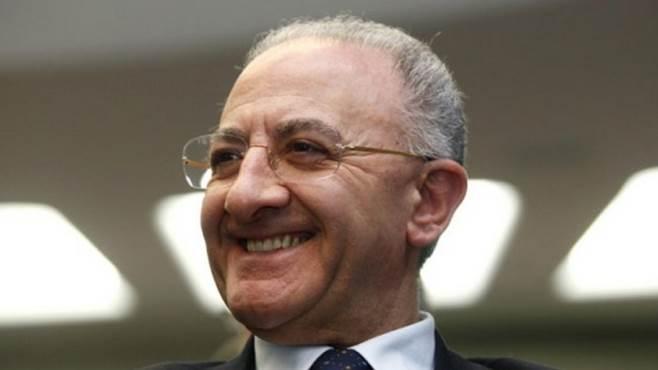 Regione Campania, Vincenzo De Luca s'insedia alla Presidenza