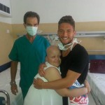 Mertens 'sposa' la giovane Aurora malata di leucemia