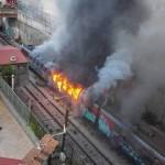 incendio in cumana