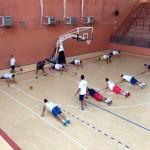 Primo allenamento per la Givova Napoli Basket