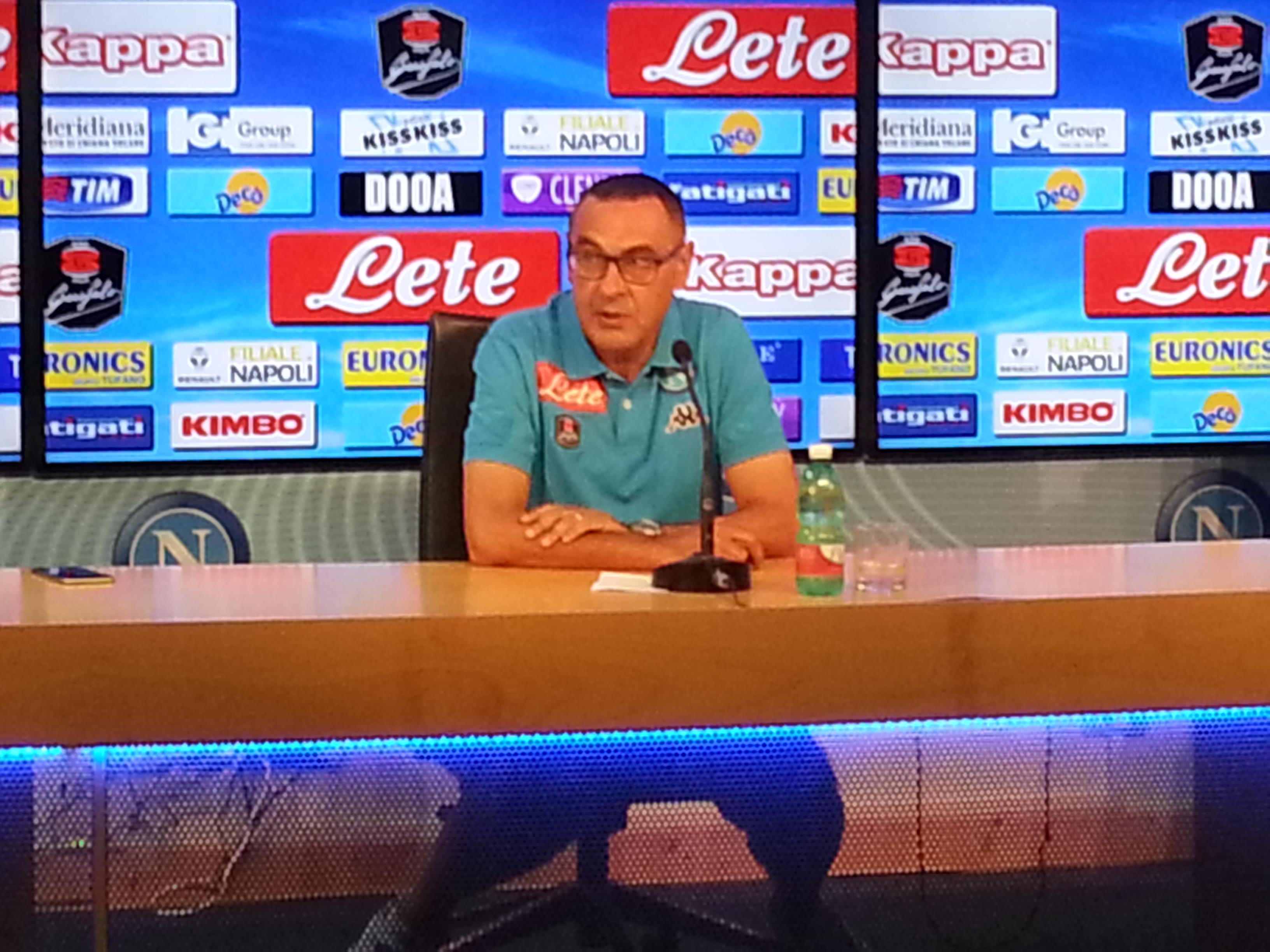Napoli come l'Empoli Conferenza Stampa di Sarri