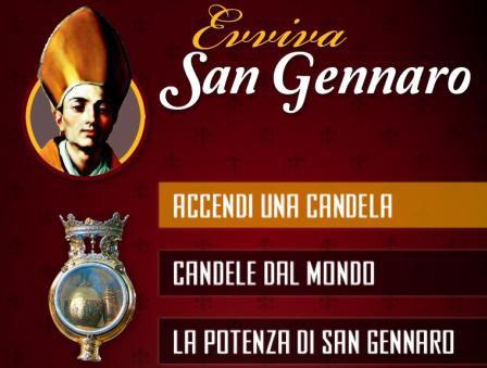"""""""Evviva San Gennaro"""": l'app che consente di accendere una candela nella Cappella del Tesoro di San Gennaro"""