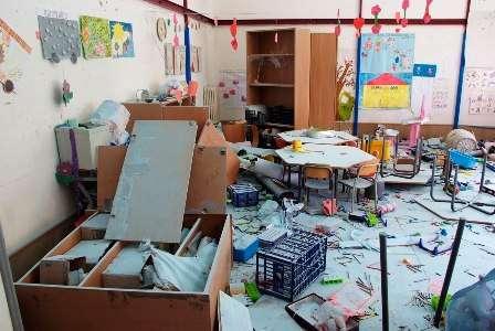 Scuola materna Ferdinando Russo: ancora un raid vandalico, tutto distrutto