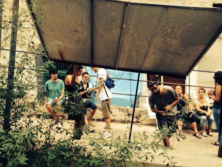 Il cantiere abbandonato di Salita Montesanto