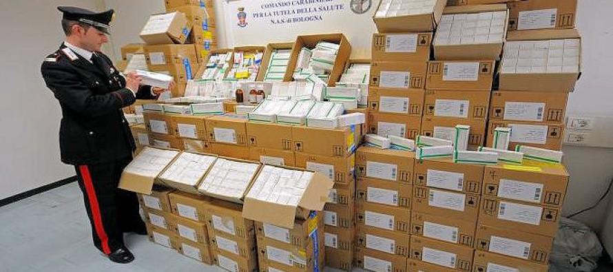 Farmaci rubati per un valore di 700 mila euro nel Salernitano