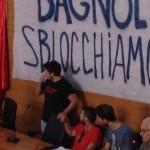 Bagnoli, corteo contro commissariamento (foto + video)