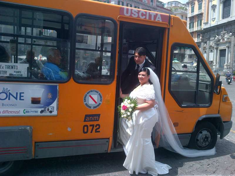 Bus Married: sposarsi in bus a Napoli
