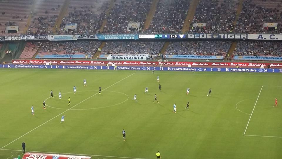 Napoli Lazio 5-0, spettacolare prima vittoria in campionato