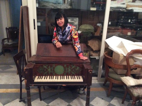 Pianoforte a cristallo: ritrovato nel Conservatorio di Musica di San Pietro a Majella