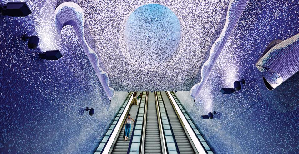 Stazione Toledo: arriva la candidatura agli Oscar delle opere pubbliche