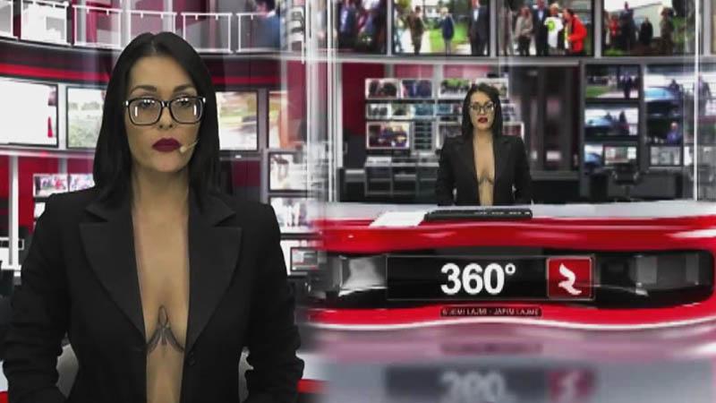 giornalista albanese sexy