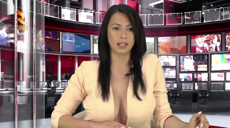 Enki Bracaj la giornalista albanese più sexy