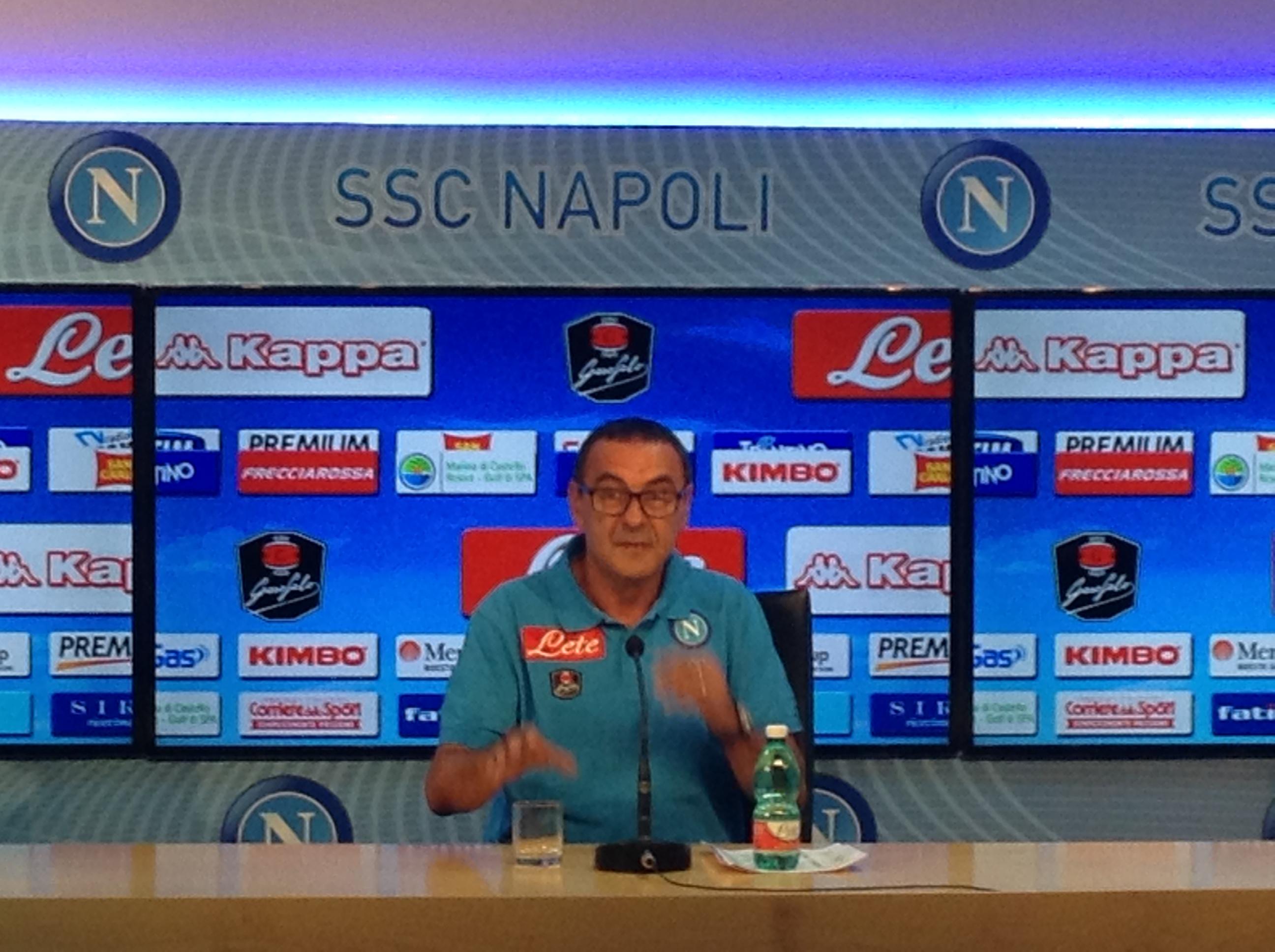 Maurizio Sarri la Juve si affronta col cuore