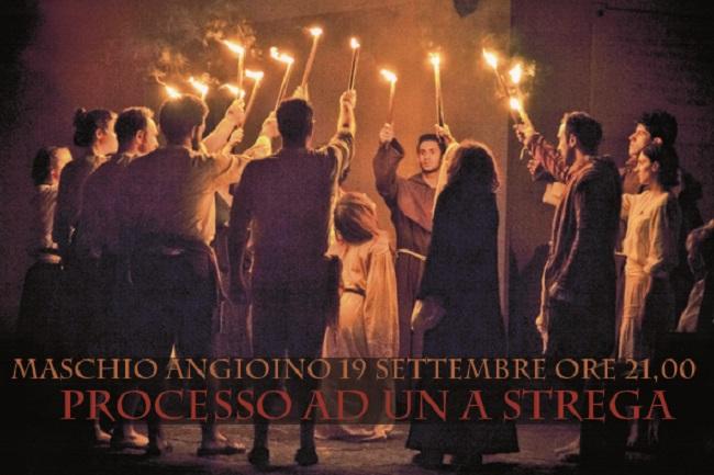 Al Maschio Angioino in scena 'Processo ad una Strega'