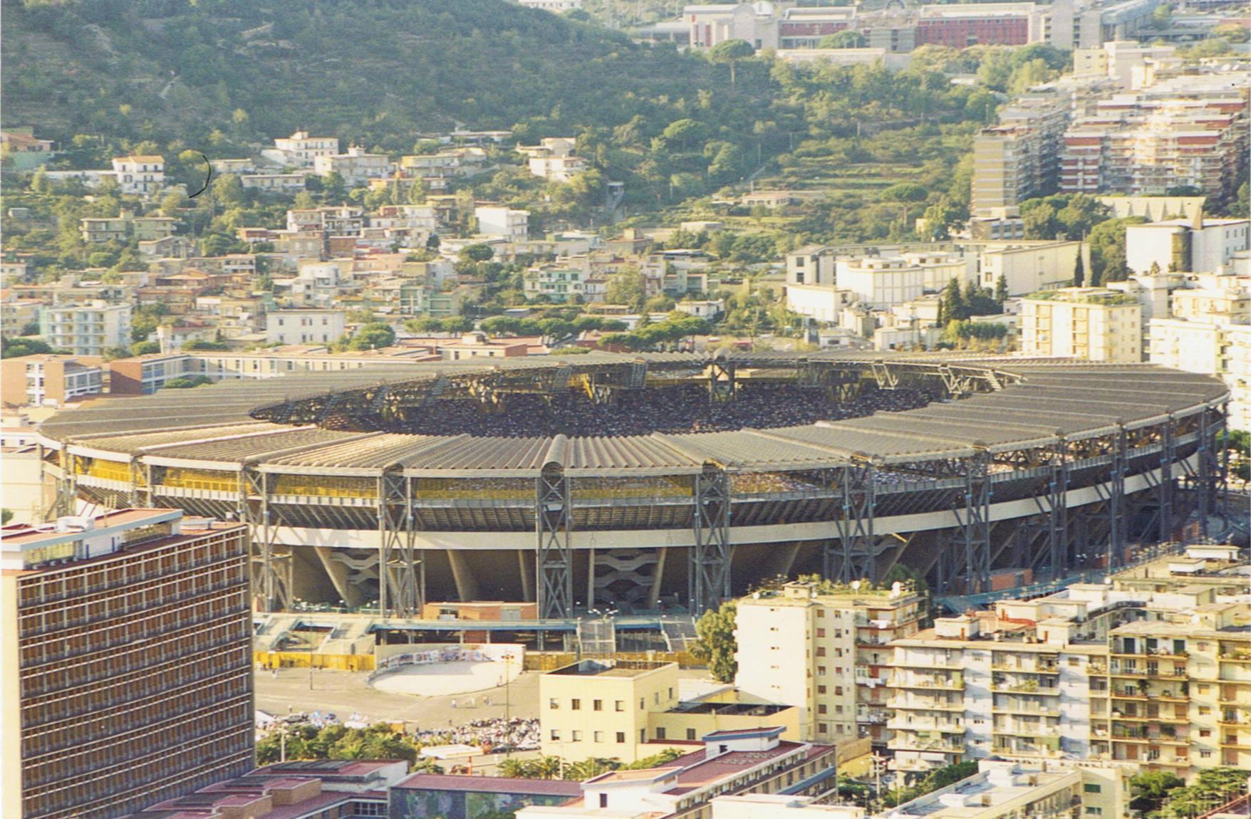 Stadio San Paolo, inquinamento acustico: l'Aci mette in mora il Comune