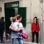 Quartieri Spagnoli, vandalizzata l'opera dell'artista Roxy in the box