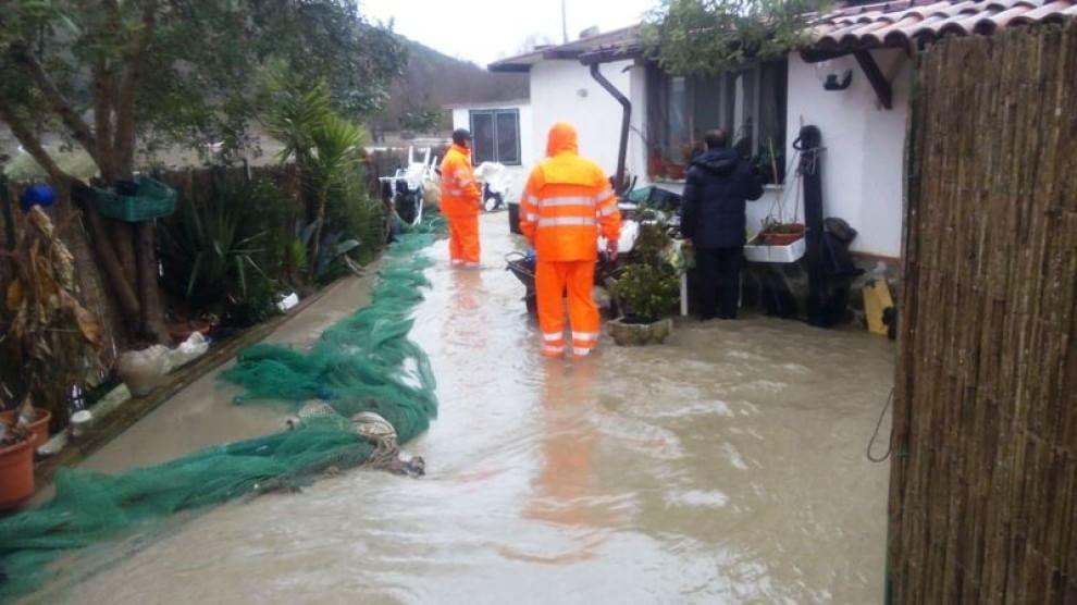 Alluvione in Campania: sciacallaggio nel Sannio