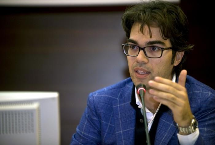 Angelo Bruscino, Presidente dei Giovani di Confapi, al forum