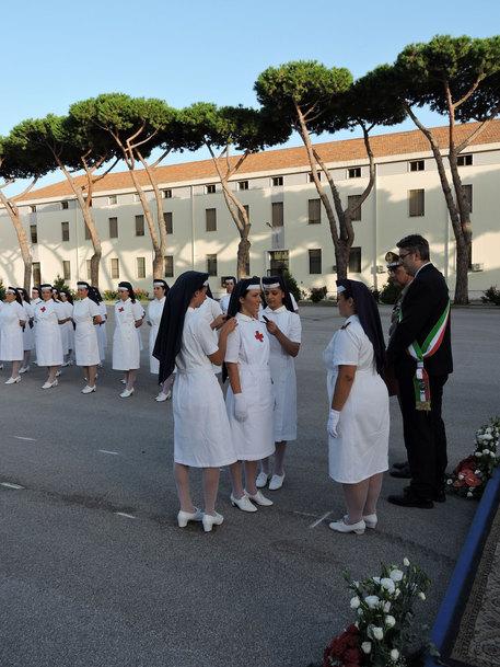 Croce Rossa Italiana: gradi di sottotenente a 35 infermiere volontarie