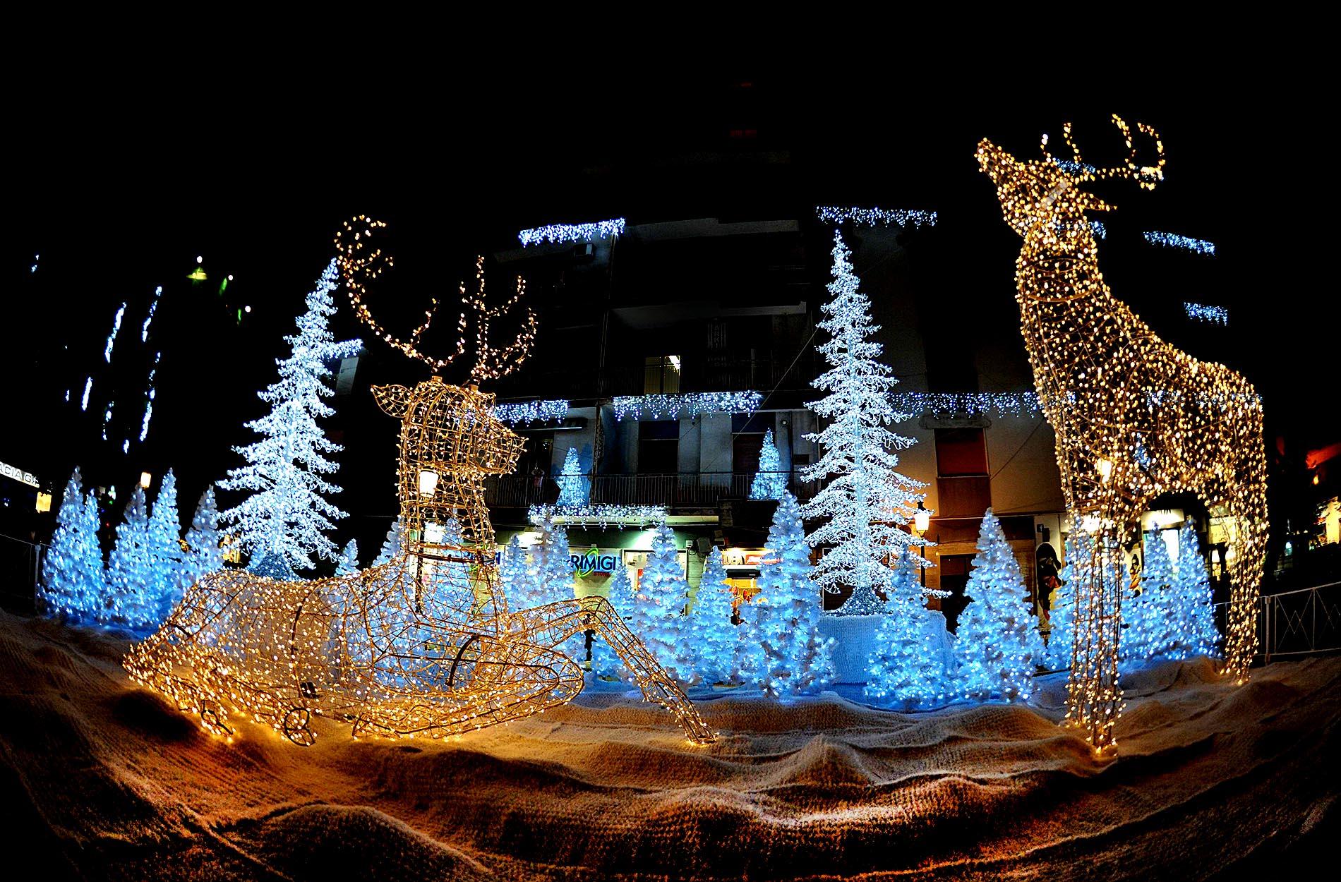 Luci d'Artista: dal 7 novembre al 31 gennaio nella città di Salerno