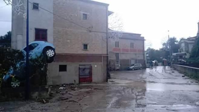Maltempo Benevento: si dorme in auto per non abbandonare le abitazioni
