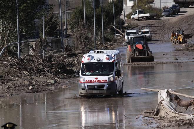 Maltempo Benevento: alto allarme, fiume Calore nuovamente esondato