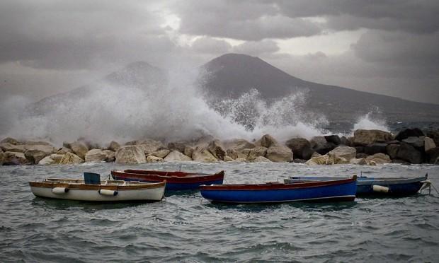 Maltempo in Campania: E' tregua fino a lunedì, poi tornano le piogge